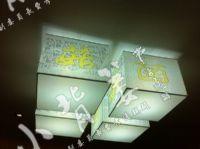 小龙8国际平台入口菌文化组合灯具